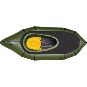 nortik TrekRaft Dinghy met kap, dark green/black